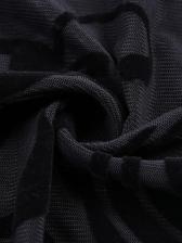Eyelash Lace Front Tie Sexy Bodysuit