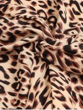 Fashion Twist Cropped Leopard Blouse