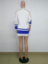 Ninja Printed Long Sleeve T Shirt Dress