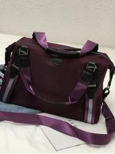 Casual Adjustable Belt Large Capacity Travel Shoulder Bag