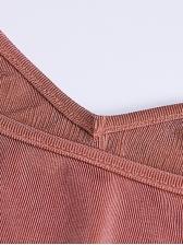 Chain Strap Long Sleeve Bodycon Midi Dress