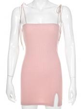 Fashion Summer Sleeveless Sheath Mini Dress