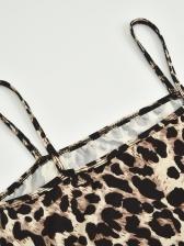 Euro Sexy Animal Print Sleeveless Mini Dress