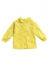 Crocodile Design Hooded Kids Winter Coats
