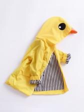 YellowDuckDesign Pockets Girls Winter Coats