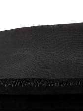 Simple Style Stiletto Heel Black Knee High Boots