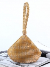 Shiny Diamonds Irregular Shape Handbags For Party