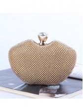 Irregular Shape Ladies Glitter Rhinestone Clutch Bag