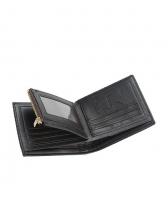 Business Black Wallet For Men With Card Holder