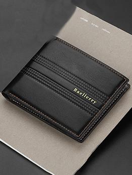 6 Magnetic Card Holders Short Men\\\'s Wallet