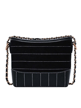 Threads Design Matt Pu Patchwork Chain Shoulder Bags