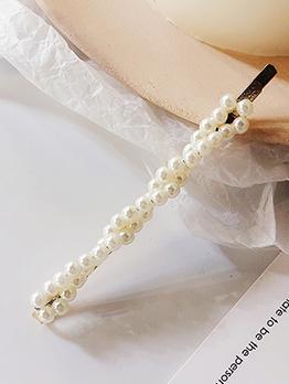 Vintage Style Pearl Hair Clip