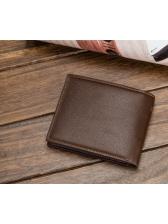 Lichee Pattern 7 Card Holders Bifold Wallet