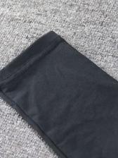 Sexy Cross Belt Backless Long Sleeve Mini Dress
