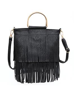 Soft Tassel Shoulder Bags For Women