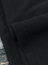 Low Cut Rhinestone Long Sleeve Bodycon Dress