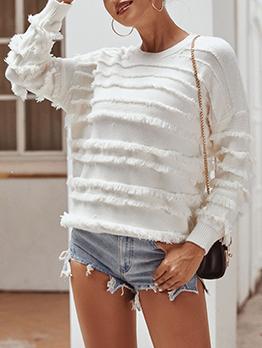 Casual Tassel Sweaters For Women