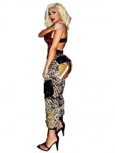 Sexy Leopard Print Long Pants For Women