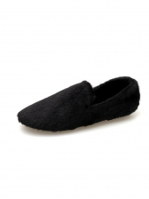 Slip On Fur Outdoor Womens Flats