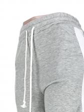 Stringy Selvedge Side Split Loose Pants