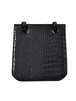 Alligator Printed Solid Shoulder Bags For Girls