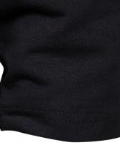 Loose Asymmetric Trim Men Pullover Hoodie