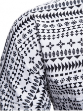 Graphic Printed Long Sleeve Shirts For Men