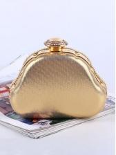 Exquisite Faux Pearls ladies Rhinestone Clutch Bag