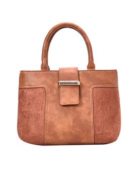 Matt Pu Patchwork Crossbody Handbags For Ladies