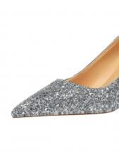 Sequined Night Club Glitter Heels