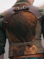 Stylish Solid Button Down Men Waistcoat