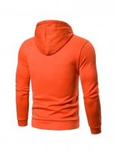 Leisure Color Block Men Designer Hoodies
