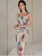 Elegant Slim Fit Sleeveless Sheath Dress