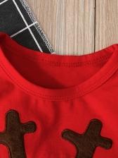 Christmas Fawn Baby Unisex Sleepsuits