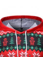 Christmas 3D Snowman Printing Hoodies For Men