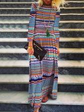 Casual TribalPrint Maxi Dresses For Women
