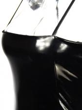 Sexy Backless Black Sleeveless Dress