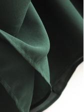 Slim Fit Tie Back Long Sleeve Midi Dress