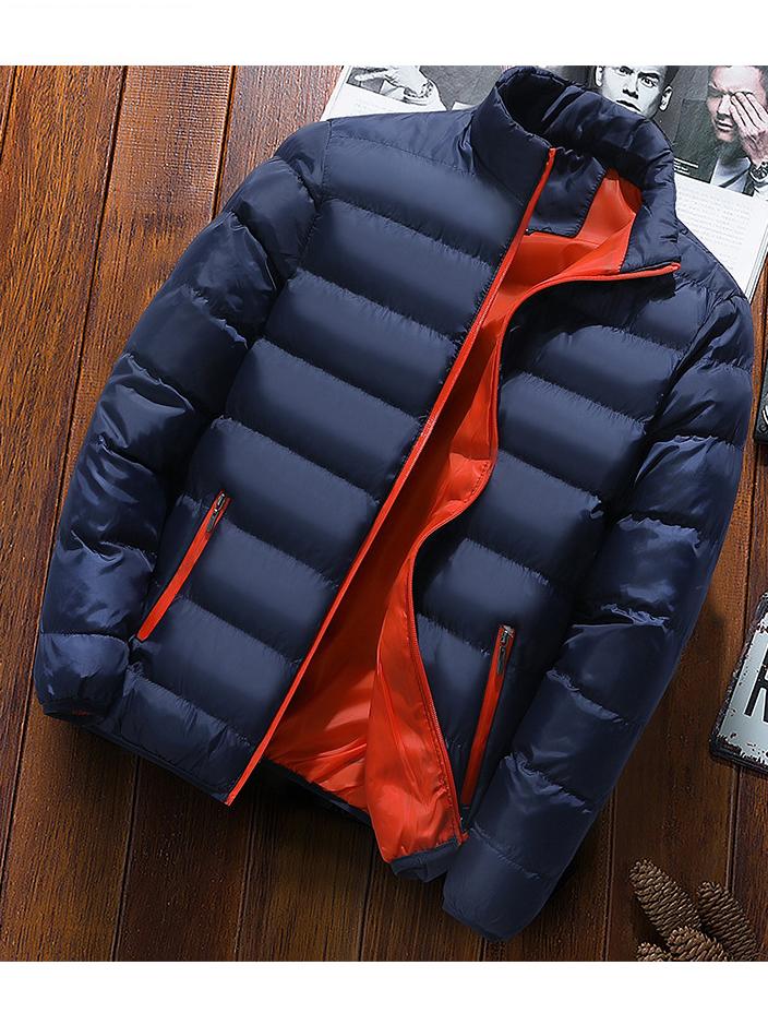 Outdoors Stand Collar Men Down Coat