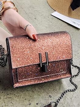 New Arrival Glitter Star Sequins Chain Shoulder Bag