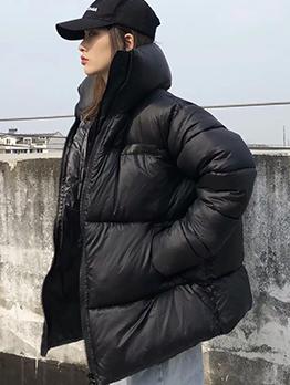 Winter Solid Warm Down Coat