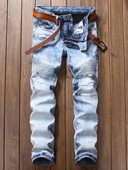 Fashion Patchwork Best Jeans For Men