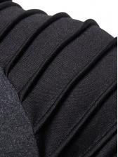 Versatile Color Block Men Pullover Hoodie