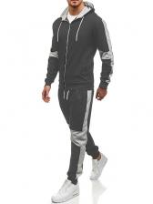 Outdoors Zip Up Men Workout Wear