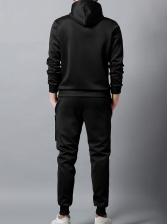 Casual Hoodies Letter Men's Activewear