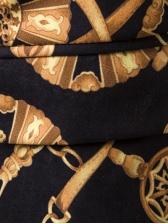 Vintage Chain Printed 3D Blazer Coat