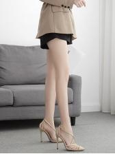 Point Toe Crossed Belt Ankle Buckle Stiletto Heels