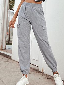 Casual High Waist Pants For Women