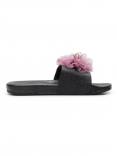 Casual Stereo Chrysanthemum House Slippers