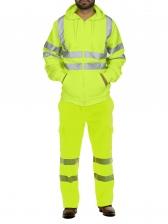 Winter Reflective Color Block Men's Activewear